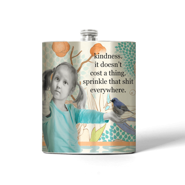 335 Kindness Stainless Steel Flask